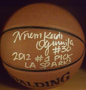 Nnemkadi Ogwumike Autographed / Signed / Inscribed Basketball PSA/DNA LA Sparks