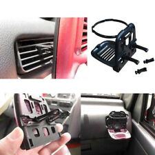 SUV Sedan Stand Bottle Can Cup Holder Air Condition Dash Vent Mount Folding Clip