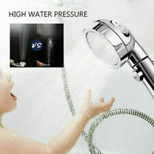 New Listing3 in 1 High Pressure Showerhead Handheld Shower Head with On/Off Pause 3-Setting