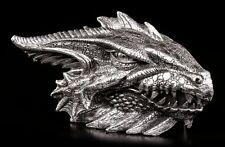Dragones Cabeza COFRE - Joya Box Caja Caja Figura GOTHIC Fantasy