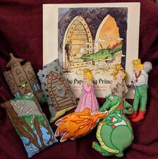 Lakeshore Learning Storytelling Kit The Paper Bag Princess book hook loop plush