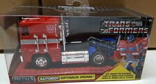 2018 HOLLYWOOD RIDES AUTOBOT OPTIMUS PRIME TRANSFORMERS SERIES 1:32 TRUCK MODEL