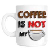 Tea Drinker Hates Coffee Office Secret Santa Funny Novelty Gift Mug shan797