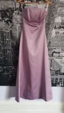 Ropa, calzado y complementos de dama de honor de color principal rosa de poliéster sin mangas