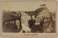 Buttes Chaumont Parigi Francia Foto Ladrey P15Ln21 Vintage Albumina