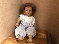 Jeckle Jansen Puppe Vinyl Puppe 42 cm. Top Zustand