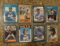 (8) Kevin Mitchell 1986 1987 Fleer Donruss Topps Rookie Card lot RC Giants Mets