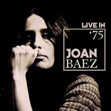 Joan Baez - Live in '75 (2016)  CD  NEW/SEALED  SPEEDYPOST