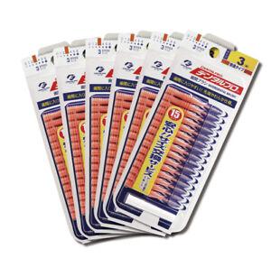 Dentalpro Interdental Brush Floss Orange dental pro 15P Size3 6packs