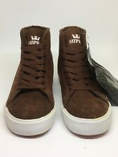 Supra Brown Suede Ankle High Trainers UK size 3, EU 36, US 4