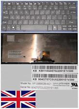 TECLADO QWERTY UK Packard Bell Netbook DOT La Serie Tiene MP-09B96GB-4421