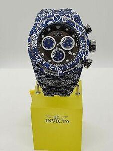 Invicta 54mm Grand S1 Rally Quartz Hydroplated Watch 34898