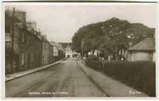 SCHOOL ROAD, GIFFORD - East Lothian Postcard (P1502)