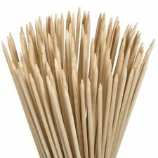 Bamboo Roasting Sticks HD Wooden Skewers Camp Fires Marshmallows Hot Dogs Kebabs