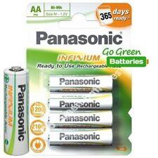 Piles rechargeables Panasonic pour équipement audio et vidéo AA