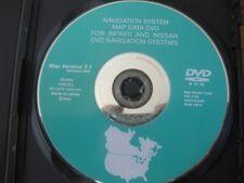 nissan dvd vehicle gps software maps ebay. Black Bedroom Furniture Sets. Home Design Ideas