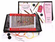 KnitPro Deluxe Set - Stricknadeln Nadelspitzen aus Symfonie Holz Art. 20613