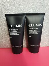 Elemis Skin Soothe Shave Gel Mens 50ml x 2.  Brand New and sealed.