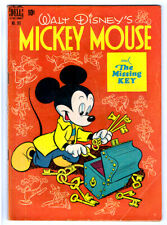 MICKEY MOUSE Dell FC #261 in VG+ 1949 Golden Age Four Color Walt Disney comic