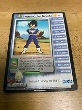 2001 Dragonball Z CCG Androids Saga #121 VEGETA THE READY LV 1 Ltd Ed