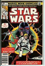 Marvel Movie Showcase Featuring Star Wars #1 9.4 NM A New Hope Skywalker CGC It