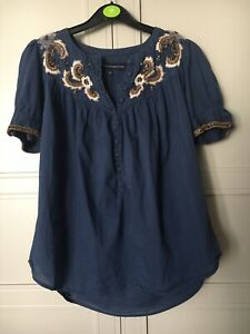 Women's French Connection Blouse/Top/Shirt Size 8