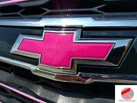 Impala 2014-2019 Chevy Emblem Bowtie Overlay Decals | PRECUT