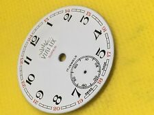 VINTAGE ORIGINALE tasca Vialux Swiss Watch Dial 17 JEWELS 36mm #PW02# 100% NUOVO