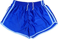 NEW Vintage SHORTS French army Surplus Retro Running Blue
