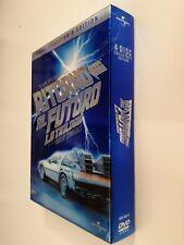 Ritorno al futuro. LA TRILOGIA (1985) DVD Cofanetto 4 DISCHI Collectors Edition