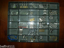 lot 12 boites fournitures bracelet watch inox vintage montre strap band Rallye