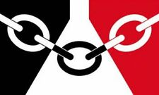 BLACK COUNTRY FLAG 3FT X 2FT 3'X2'  WITH TWO METAL EYELETS