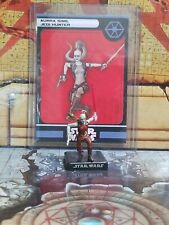 #02 Aurra Sing, Jedi Hunter Alliance and Empire Star Wars Miniatures SWM