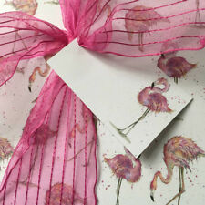 Flamingo Wrapping Paper - Luxury Gift Wrap - Tropical Theme - Pink