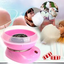 Electirc Candyfloss Making Machine Cotton Sugar Candy Floss Maker Party Pink DIY