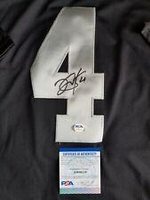 Derek Carr Signed Oakland Raiders Jersey w/ PSA COA NFL Autographed Las Vegas
