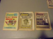 LOT OF 3 NATIONAL DRAGSTER NHRA,AHRA,IHRA NEWSPAPERS,GARLITS,IVO,DIXON,NANCY,