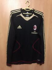 AC MILAN ITALY TRAINING FOOTBALL SHIRT JUMPER PLAYER ISSUE FORMOTION ADIDAS
