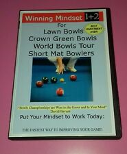 Winning Mindset Set 1& 2 Advanced Bowls Performance Lawn Indoor Smpt short mat #