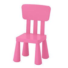 Ikea Mammut Seggiolone Rosa con schienale Sedile Sedia Mobili Bambini