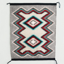 NATIVE AMERICAN NAVAJO EYE DAZZLER RUG BY CLARA JOE NATIVE AMERICAN