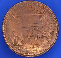 Carmarthen Iron Works Halfpenny token coin ½d  token coin *[20158]