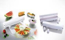 WRAPTASTIC COCINA envoltura de plástico-Blanco Smart Dispensador de comida hoja de papel de cera