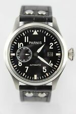 Parnis Mosca Ruhr 47mm automaik SEAGULL ST 2551 data piccola secondo pilotenuhr