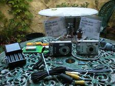 2 Fujifilm FinePix A 500's 5.1MP Digital Camera's Silver & Blue both in G/W/O