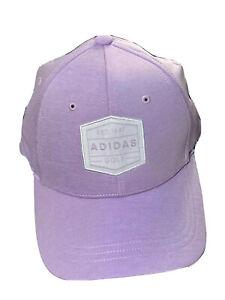 ADIDAS Women's Golf Hat Cap Subtle Lavender Light Purple Color Tennis  All Sport