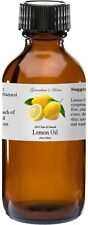 Lemon Essential Oil - 4 oz - 100% Pure and Natural - Free Shipping - US Seller