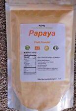 Papaya 4Lb Fruit Powder by PURO SKIN HAIR HEALTH FRESH BRAZIL Non GMO