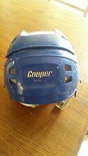 Vintage Rare Cooper SK600 Jr Ice Hockey Helmet size Junior. Blue. Played hard!