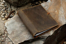 leather 2 inch 3 ring presentation binder portfolio organizer document folder